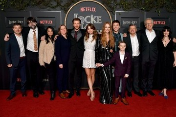 "Ted Sarandos Connor Jessup Premiere Of Netflix's ""Locke & Key"""