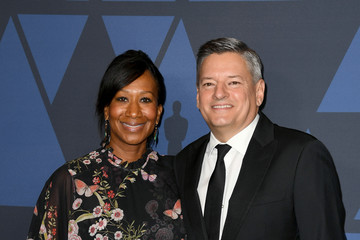 Ted Sarandos Nicole Avant Academy Of Motion Picture Arts And Sciences' 11th Annual Governors Awards - Arrivals