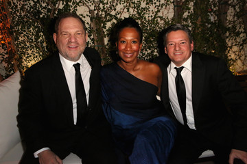 Ted Sarandos Nicole Avant The Weinstein Company and Netflix's SAG Afterparty