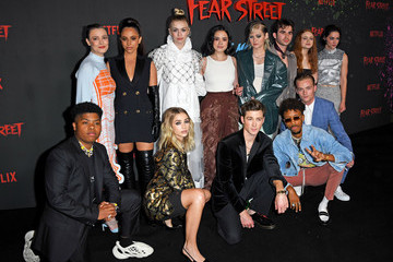 """Ted Sutherland Premiere Of Netflix's """"Fear Street Trilogy"""" - Arrivals"""
