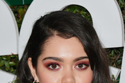 Auli'i Cravalho attends Teen Vogue's 2019 Young Hollywood Party Presented By Snap at Los Angeles Theatre on February 15, 2019 in Los Angeles, California.