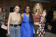 (L-R) Vera Giusti, Lindsay Peoples Wagner, and Paris Jackson attend Teen Vogue Celebrates Young Hollywood 2020 at San Vicente Bungalows on February 05, 2020 in West Hollywood, California.