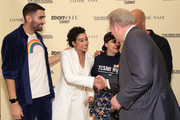(L-R) Phillip Picardi, Amandla Stenberg, Emma Gonzalez, Common and Al Gore attend Teen Vogue Summit 2018: #TurnUp - Day 2 at The New School on June 2, 2018 in New York City.