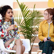 Anna Cathcart and Indya Moore