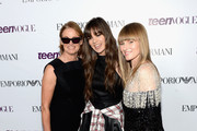 (L-R) Senior West Coast Editor of Teen Vogue Lisa Love, actress Hailee Steinfeld, and Teen Vogue Editor-in-Cheif Amy Astley attend Teen Vogue Young Hollywood Party on September 27, 2013 in West Hollywood, California.