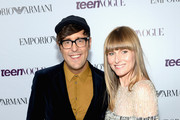 Style Editor & Editor/Blogger for Teen Vogue Andrew Bevan and Teen Vogue Editor-in-Chief Amy Astley attend Teen Vogue Young Hollywood Party on September 27, 2013 in West Hollywood, California.