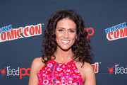 Actress Melissa Ponzio attends the MTV Teen Wolf Final Farewell press room during 2016 New York Comic Con at the Jacob Javitz Center on October 8, 2016 in New York City.