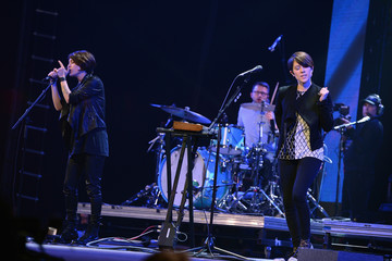 Tegan Quin CBGB Festival Presents Amnesty International Concert At Barclay Center - Show