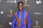 Michael K. Williams arrives as the Television Academy Honors Emmy Nominated Performers at Wallis Annenberg Center for the Performing Arts on September 20, 2019 in Beverly Hills, California.