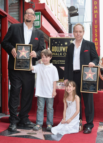 Penn & Teller Honored On The Hollywood Walk Of Fame