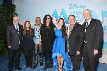 Temuera Morrison The World Premiere of Disney's 'Moana'