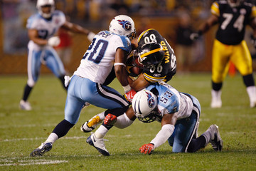 Nick Harper Tennessee Titans v Pittsburgh Steelers