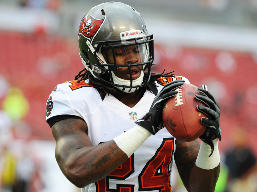mark barron in tennessee titans v tampa bay buccaneers