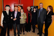Actors Elaine Stritch, Eli Wallach, Anne Jackson, Ellen Burstyn, Bryce Dallas Howard, curator at Museum of Moving Image David Schwartz and director Jodie Markell at the Tennessee Williams on Screen and Stage panel discussion at The Times Center on December 9, 2009 in New York City.