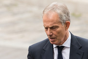 Former Prime Minister Tony Blair attends the service to commemorate the tenth anniversary of the London 7/7 bonbings at St Pauls Cathedral on July 7, 2015 in London, England.  Today is the tenth anniversary of the 7/7 bombings, when four suicide bombers struck transport system in central London on Thursday 7 July 2005, killing 52 people and injuring more than 770 in simultaneous attacks.