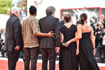 Terence Nance Hend Sabry Closing Ceremony Red Carpet - The 76th Venice Film Festival
