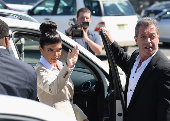 Teresa Giudice - Teresa and Joe Giudice Arrive at Court