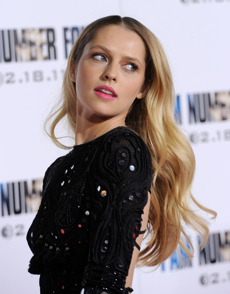 "Teresa Palmer Actress Teresa Palmer arrives at the premiere of DreamWorks Pictures' ""I Am Number Four"" at the Village Theater on February 9, 2011 in Los Angeles, California."