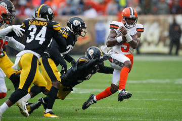 Terrell Edmunds Pittsburgh Steelers vs. Cleveland Browns