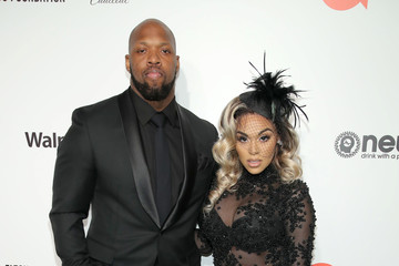 Terrell Suggs 28th Annual Elton John AIDS Foundation Academy Awards Viewing Party Sponsored By IMDb, Neuro Drinks And Walmart - Arrivals
