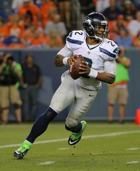 Terrelle Pryor Pictures Seattle Seahawks V Denver