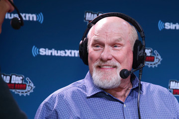 Terry Bradshaw SiriusXM at Super Bowl LII