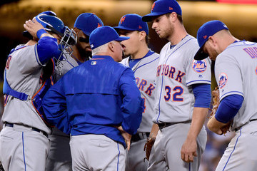 Terry Collins New York Mets v Los Angeles Dodgers