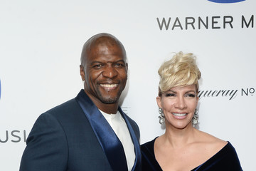 Terry Crews Warner Music Group's Celebration For The 58th Annual Grammy Awards - Arrivals