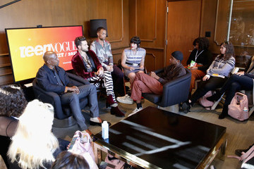 Terry Crews Kendrick Sampson The Teen Vogue Summit Los Angeles 2018 - On Stage Conversations And Atmosphere
