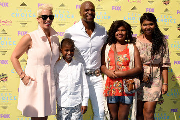 Terry Crews Rebecca Crews Teen Choice Awards 2015 - Arrivals