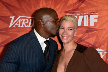 Terry Crews Rebecca Crews Variety and Women in Film Annual Pre-Emmy Celebration - Arrivals