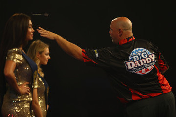 Terry Jenkins 2016 William Hill PDC World Darts Championships - Day Six
