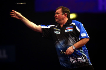 Terry Jenkins 2015 William Hill PDC World Darts Championships - Day Nine