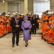 Terry Morgan The Queen Visits the Crossrail Station Site at Bond Street