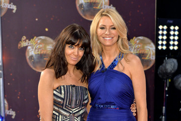 Tess Daly Guests Attend 'Strictly Come Dancing 2015'