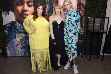 Tess Holliday Lauren Wasser ELLE's 25th Annual Women In Hollywood Celebration Presented By L'Oreal Paris, Hearts On Fire And CALVIN KLEIN - Hearts On Fire