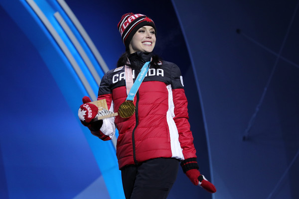 Medal Ceremony - Winter Olympics Day 3