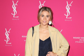 Tessa de Josselin Celebrities Attend the YSL Beauty Launch