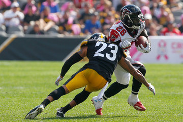 Tevin Coleman Atlanta Falcons vs. Pittsburgh Steelers