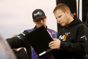 'Denny Hamlin Photo' from the web at 'http://www3.pictures.zimbio.com/gi/Texas+Motor+Speedway+Day+2+YuLew9Nic6Ls.jpg'