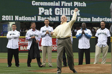 Pat Gillick Texas Rangers v Seattle Mariners