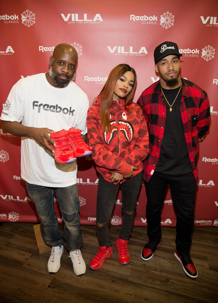 ff4479109b1 Teyana Taylor Launches Her Reebok Question Mid