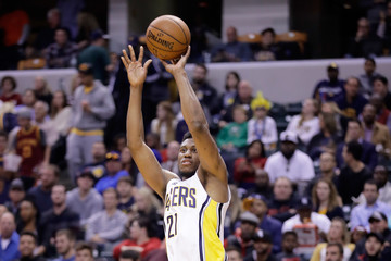 Thaddeus Young Cleveland Cavaliers v Indiana Pacers