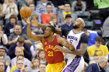 Thaddeus Young Sacramento Kings v Indiana Pacers