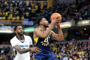 Thaddeus Young Memphis Grizzlies vs. Indiana Pacers