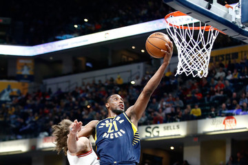 Thaddeus Young Chicago Bulls v Indiana Pacers
