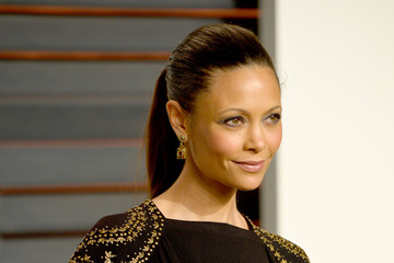 Thandie Newton Arrivals at the Elton John AIDS Foundation Oscars Viewing Party — Part 5