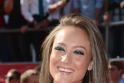 Actress Lauren Mayhew arrives at the 2012 ESPY Awards at Nokia Theatre L.A. Live on July 11, 2012 in Los Angeles, California.