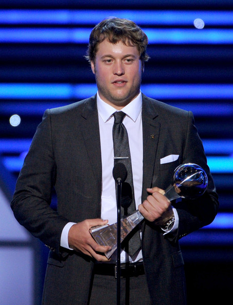 Image result for matthew stafford ESPYS