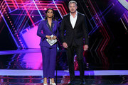 (L-R) Lilly Singh and Eric Dane speak onstage during The 2019 ESPYs at Microsoft Theater on July 10, 2019 in Los Angeles, California.